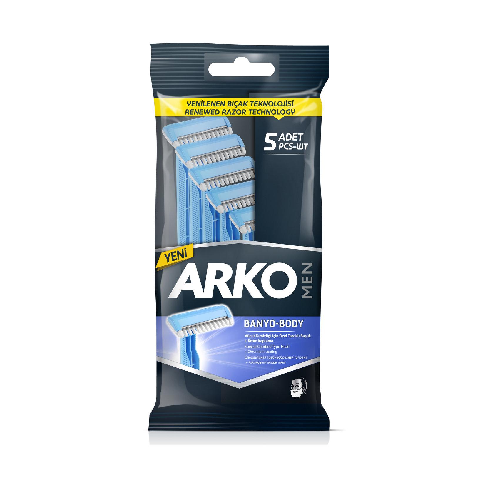 Arko Men Banyo Traş Bıçağı 5lı