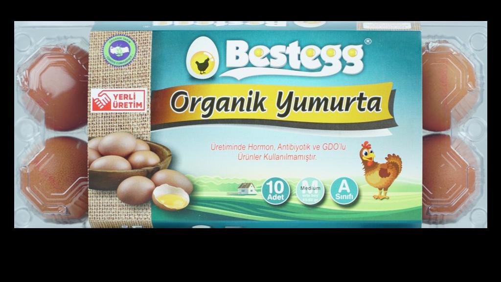 Bestegg Organik Yumurta 10 Lu