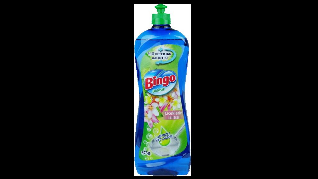 Bingo Bulaşık Deterjanı Çiçek Işıltısı 675 Gr.
