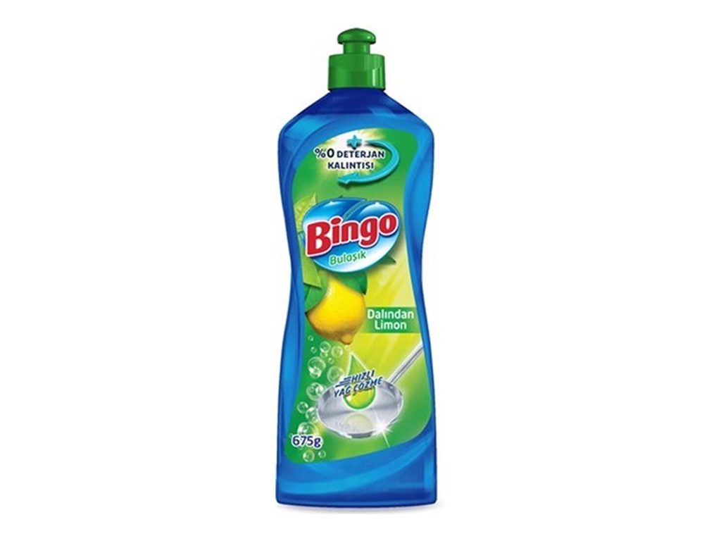 Bingo Bulaşık Deterjanı Dalından Limon 675 Gr.
