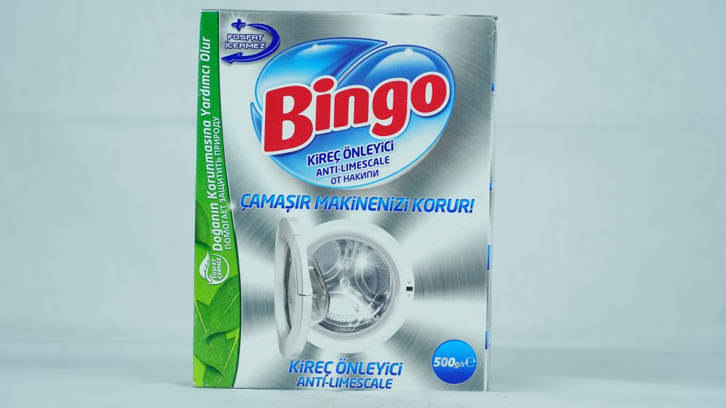 Bingo Kireç Önleyici Çamaşır Mak. 500 Gr.