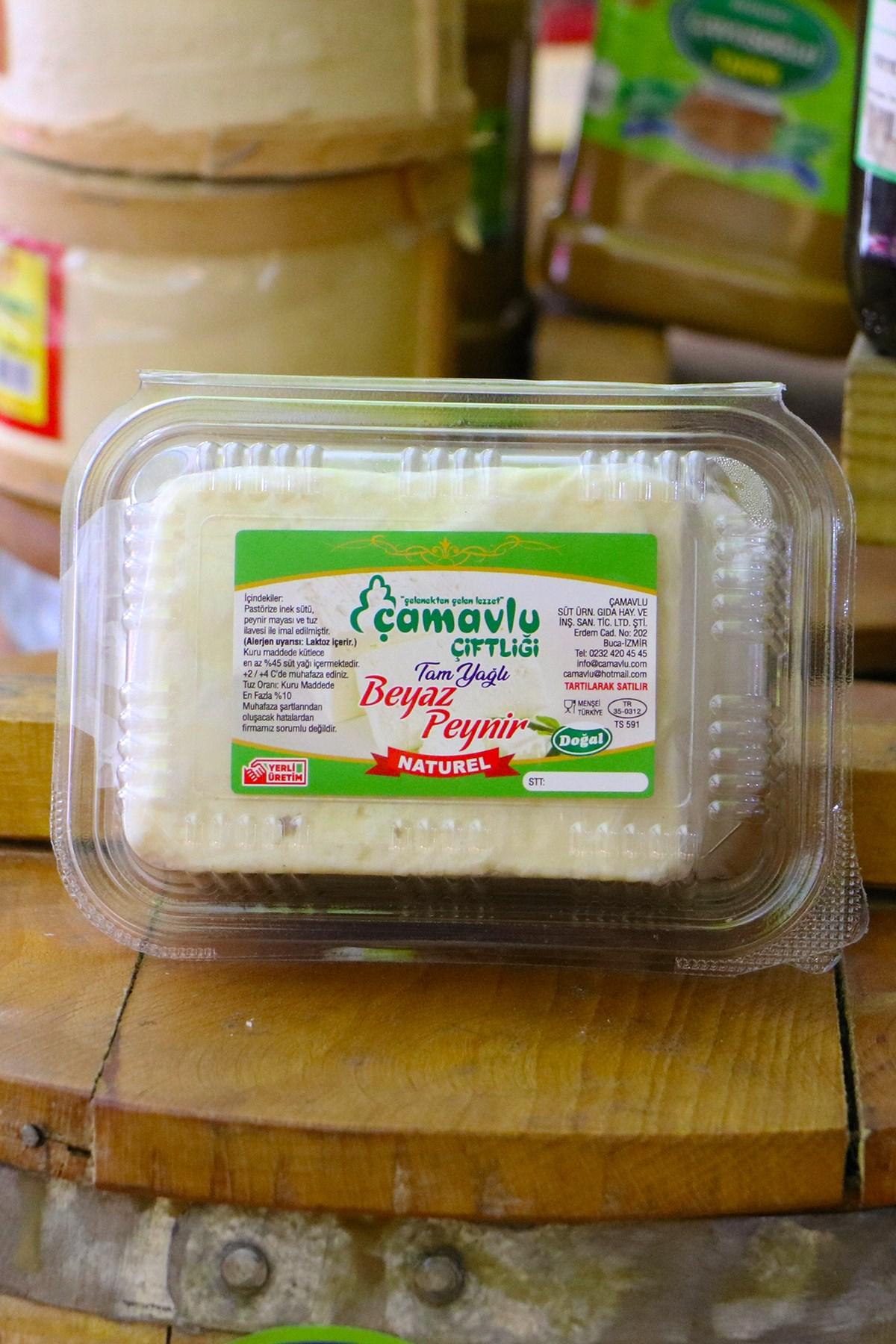 Çamavlu İnek Naturel Beyaz Peynir Kg.