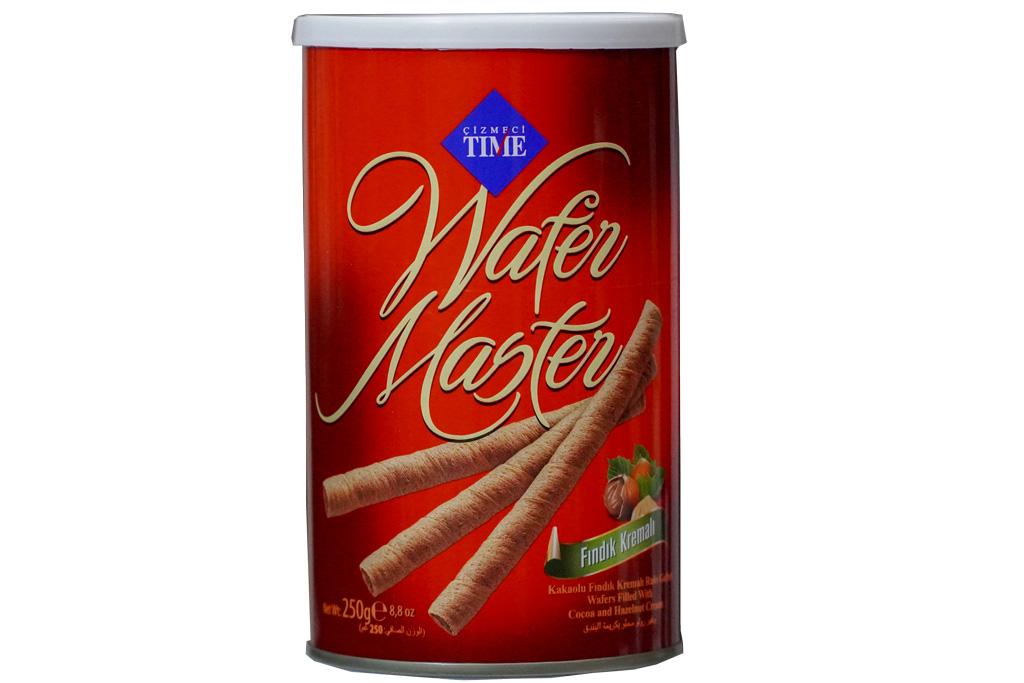 Çizmeci Wafer Master Çikolatalı 250 Gr.