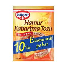 Dr Oetker Hamur Kabartma Tozu 10 Lu 100 Gr.