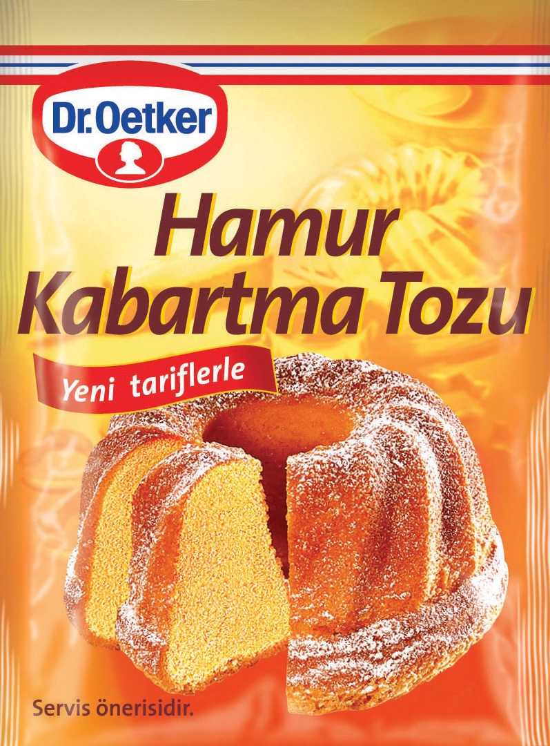 Dr Oetker Hamur Kabartma Tozu 5 li 50 Gr.