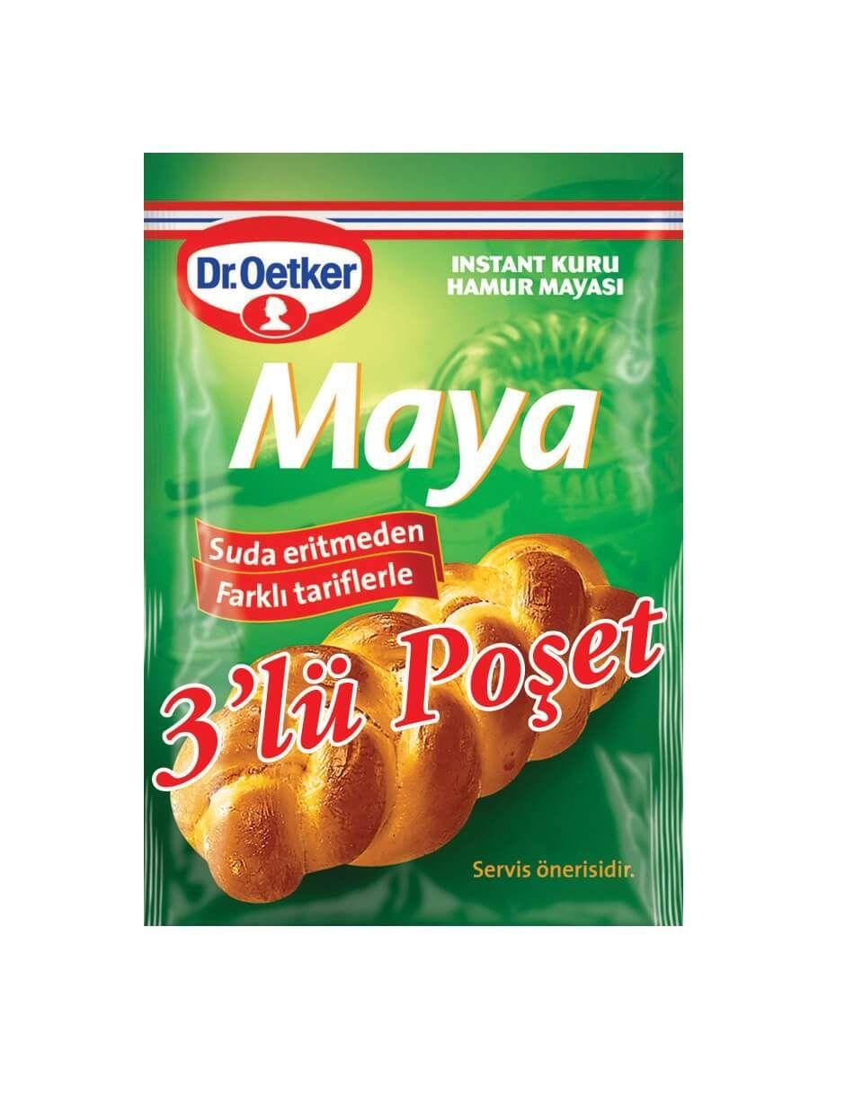Dr Oetker Instant Maya 3 Lu 30 Gr.