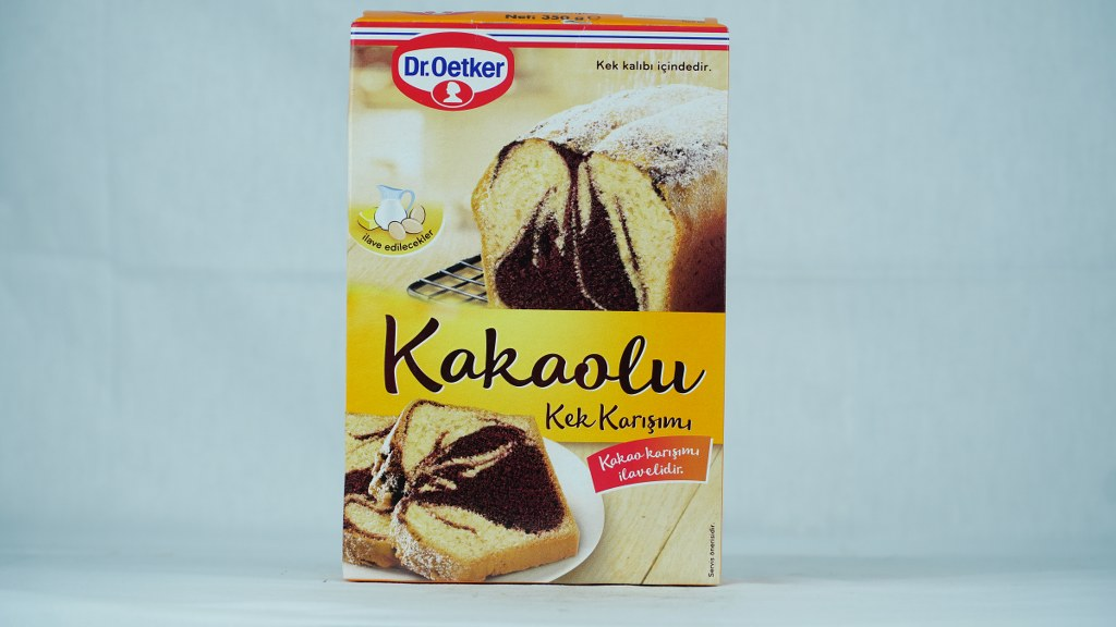 Dr. Oetker Kakaolu Kek Karışımı 350 Gr.