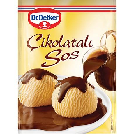 Dr Oetker Tatlı Sos Çikolatalı 128 Gr.