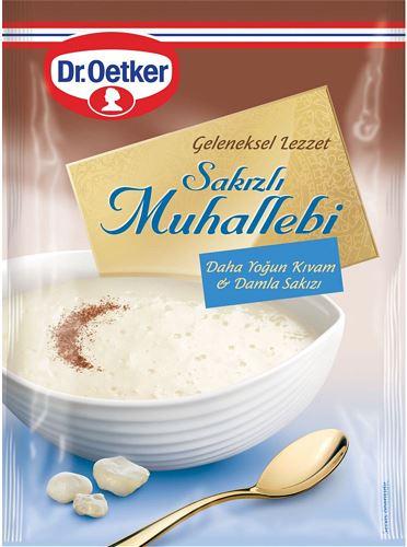 Dr Oetker Türk Tatlıları Sakızlı Muhallebi 150 Gr.