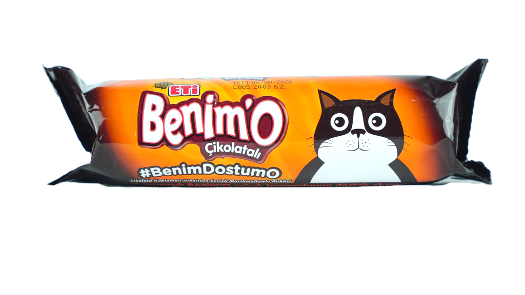 Eti Benımo Lokmalık Çikolatalı 80 Gr.