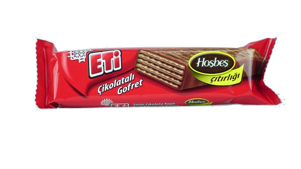 Eti Çikolatalı Gofret 34 Gr.