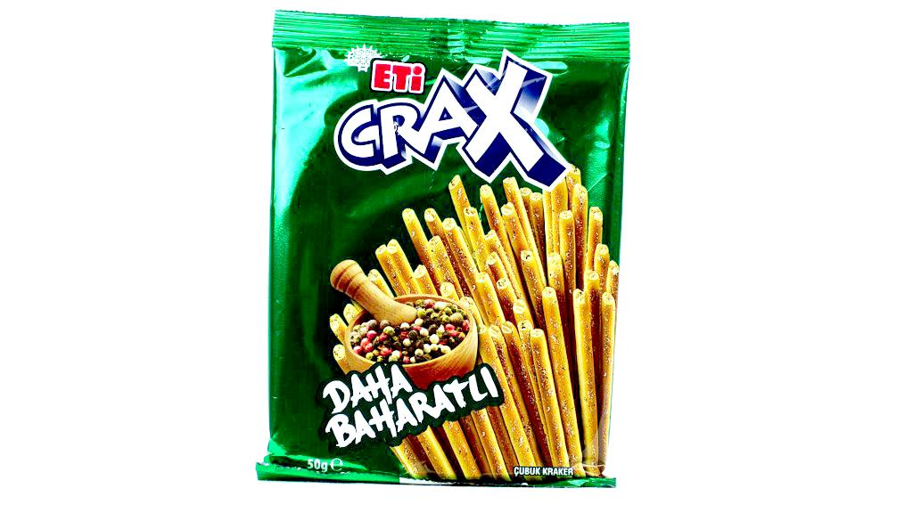 Eti Crax Baharatlı 50 Gr.
