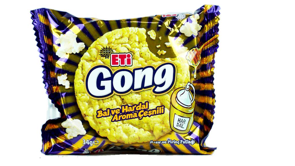 Eti Gong Ballı Hardallı 34 Gr.
