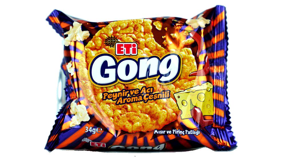 Eti Gong Peynirli Baharatlı 34 Gr.