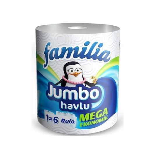 Famılıa Jumbo Havlu 6 Lı