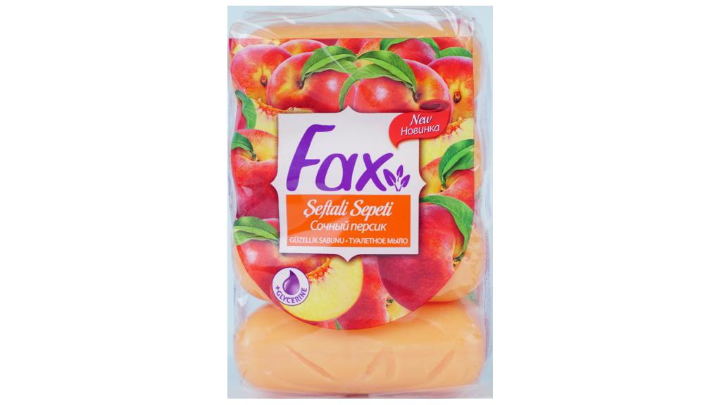 Fax Ecopack Sabun 4lu Seftalı Sepetı