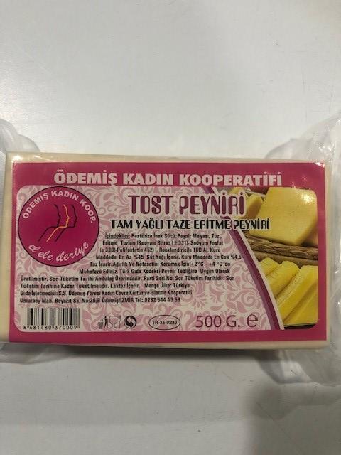 Ödemiş K.Koop Taze Kaşar Peyniri 500 Gr.