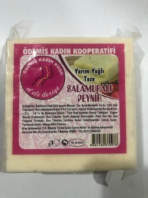 Ödemiş K.Koop Y.Yağlı Salamura Peyniri Kg.