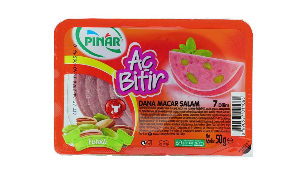 Pınar Ac Bitir Salam Mac.Fıst 60 Gr.
