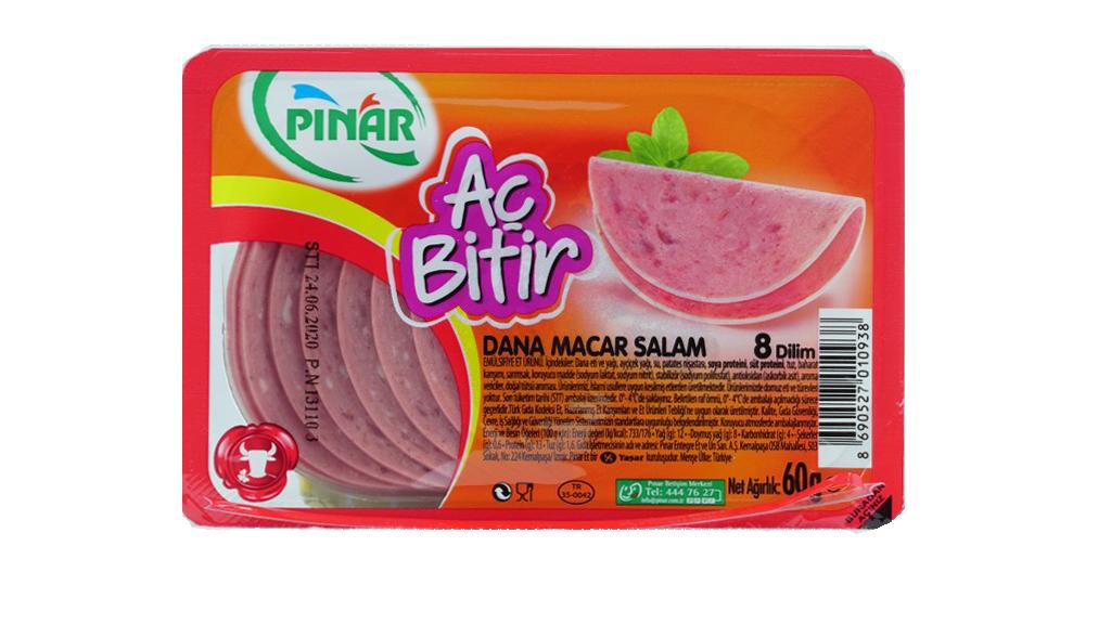 Pınar Ac Bitir Salam Macar 60 Gr.