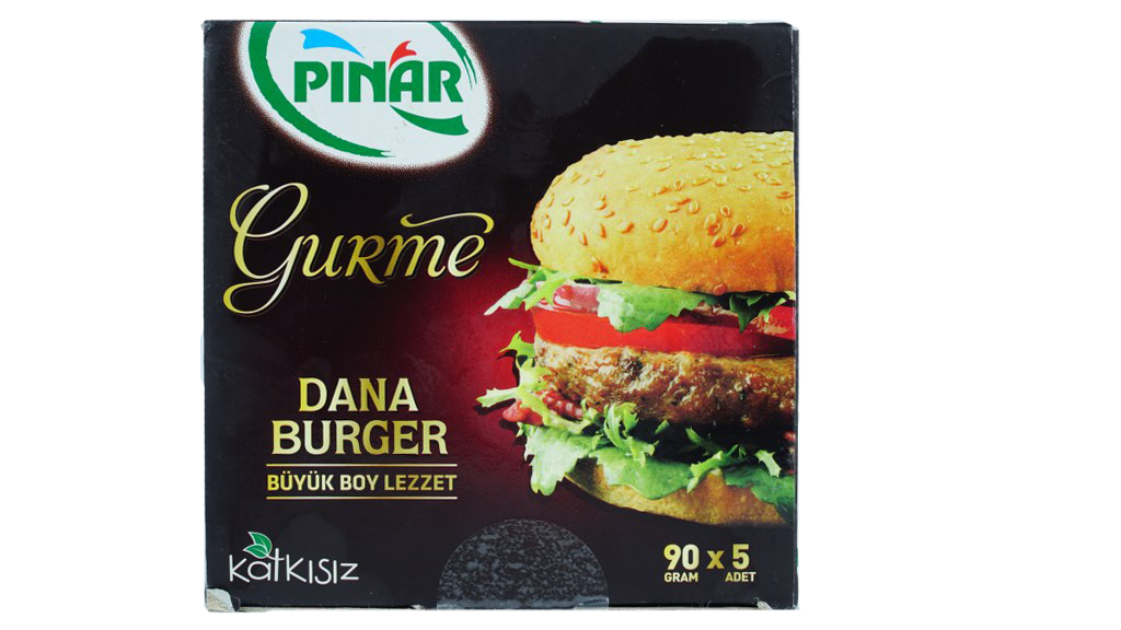 Pınar Burger Gurme 450 Gr.