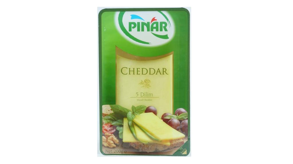 Pınar Cheddar Dılımlı 200 Gr.