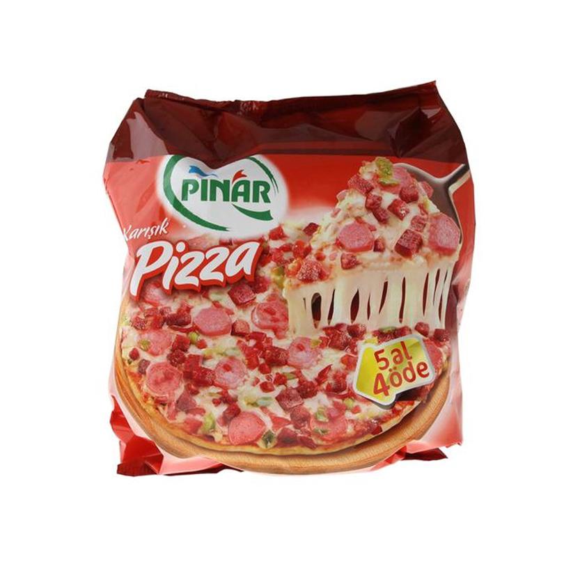 Pınar Eko Pizza Karışık 800 Gr. 5 al 4 öde