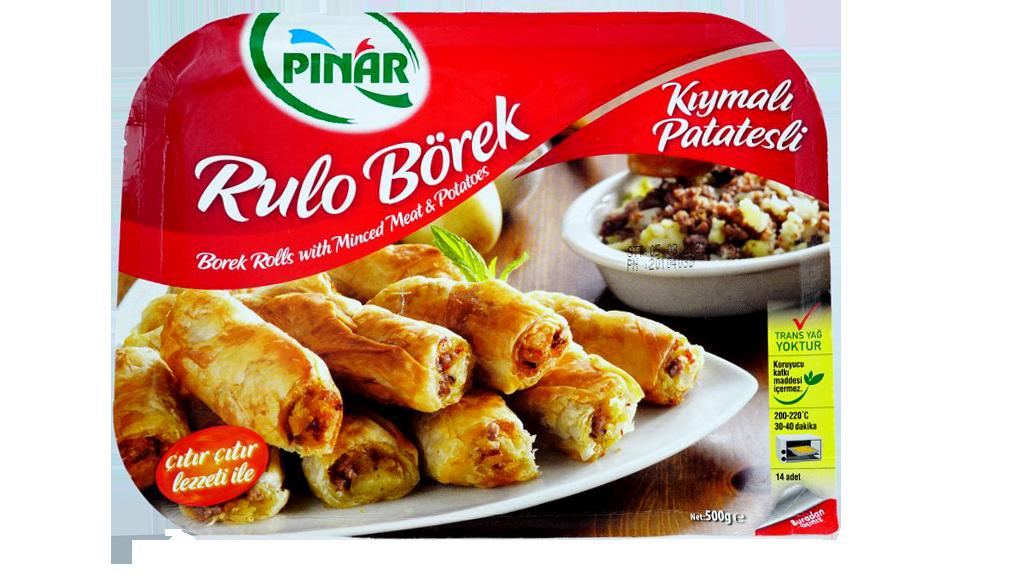 Pınar Kıyma-Ptates Rulo Borek 500 Gr.