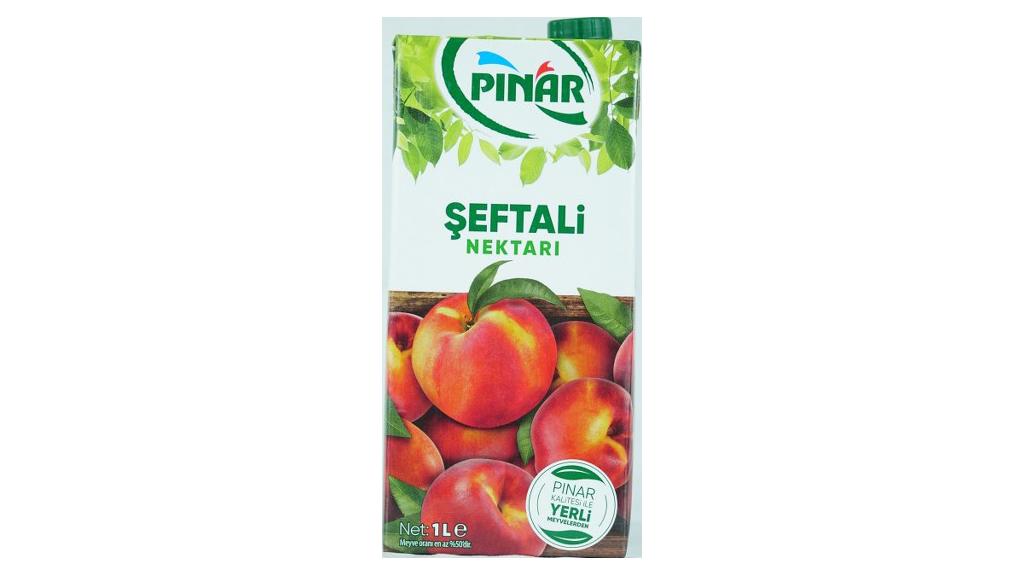 Pınar Meyve Suyu 1 Lt Şeftali