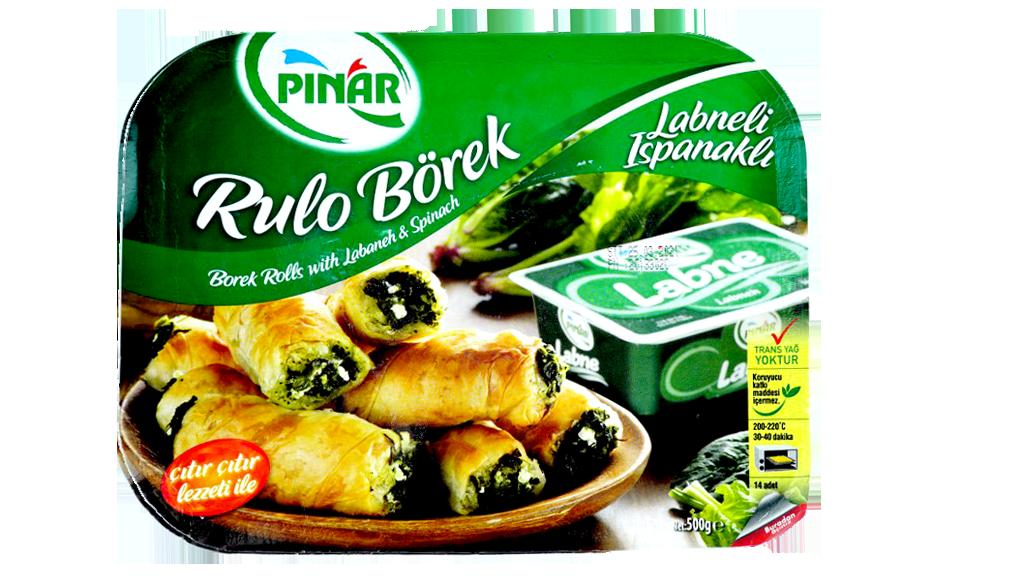 Pınar Pey-Ispanak Rulo Borek 500 Gr.