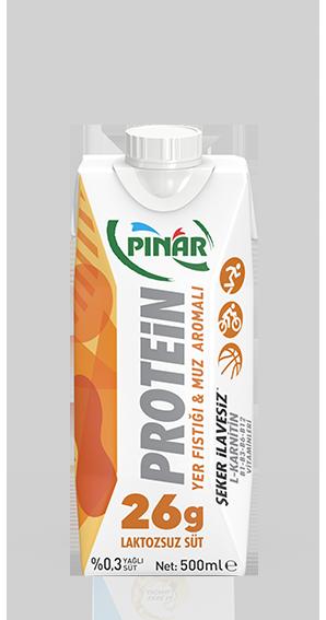 Pınar Protein Lakt.Vanilyalı Süt 500 Ml