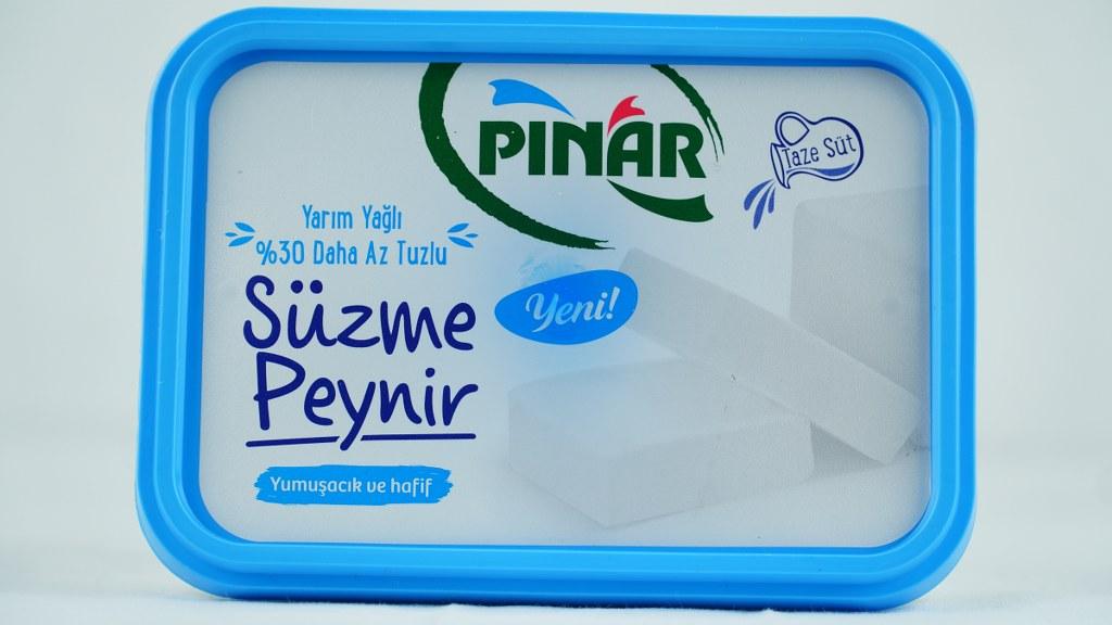 Pınar Süzme Peynir Az Yağlı Az Tuzlu 500 Gr.