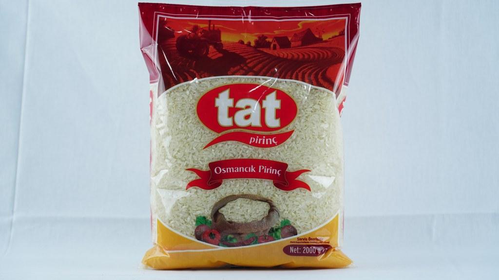 Tat Osmancık Pirinç 2 Kg.