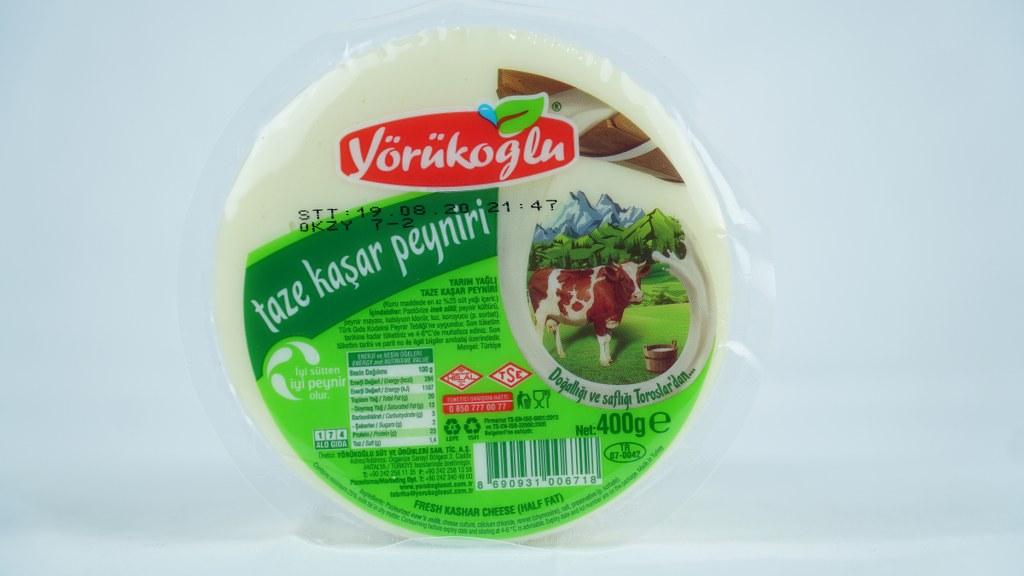 Yörükoğlu Taze Kaşar Peynirı 400 Gr.