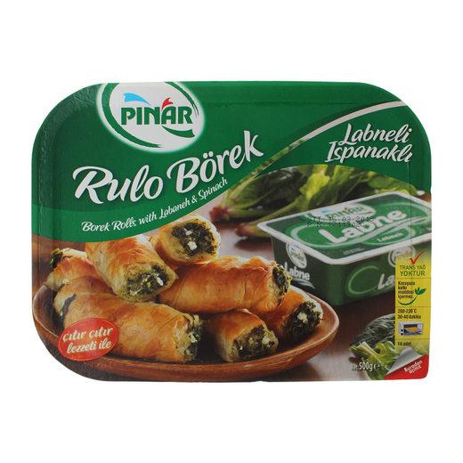 Pınar Pey-Ispanak Rulo Börek 500 Gr