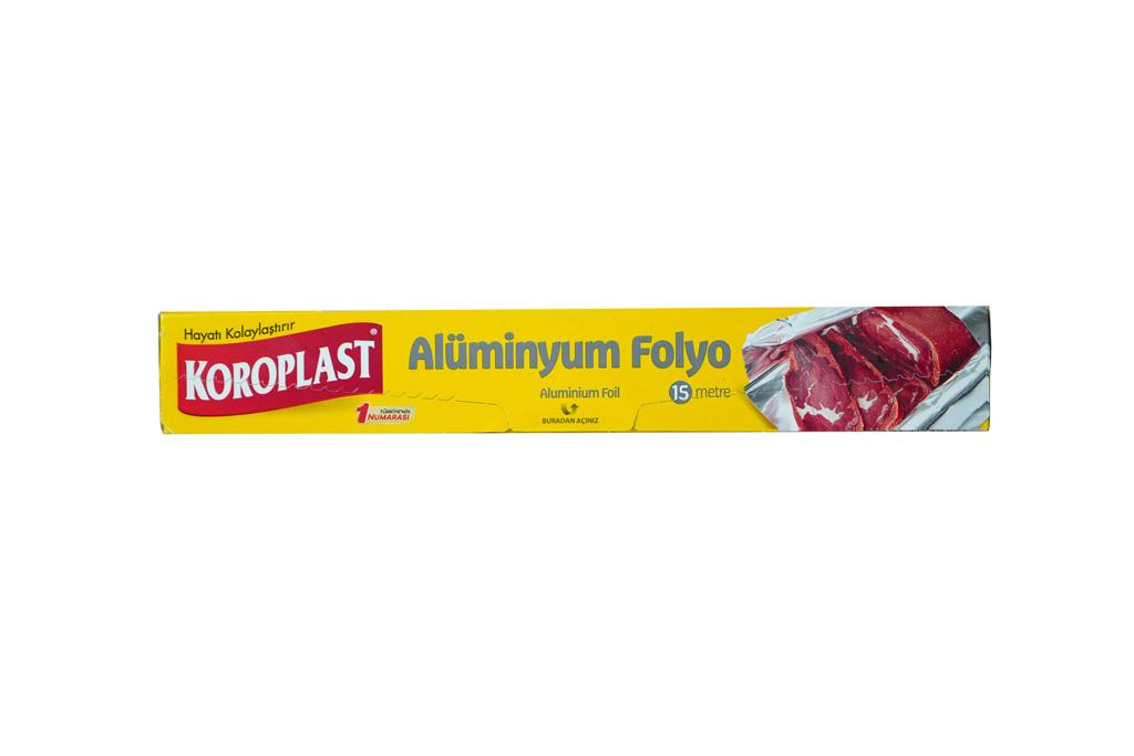 Koroplast Aliminyum Folyo 15 mt