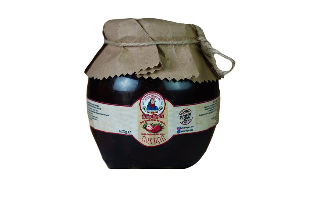 Efeler Diyarı Koop Çilek Reçeli 450 gr