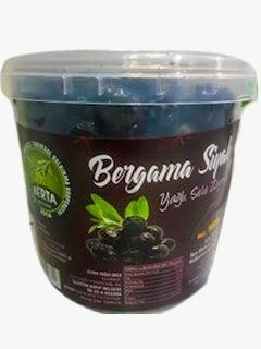 Bergama Koop Yağlı Sele Siyah Zeytin 1 kg