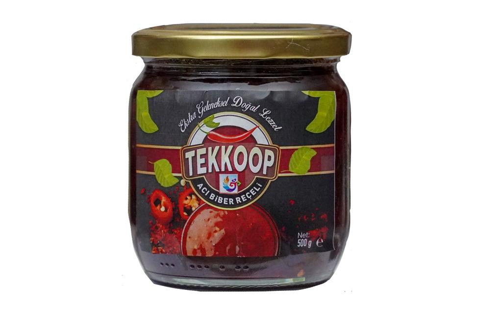 Tarsus Tekkop Acı Biber Reçeli 500 gr
