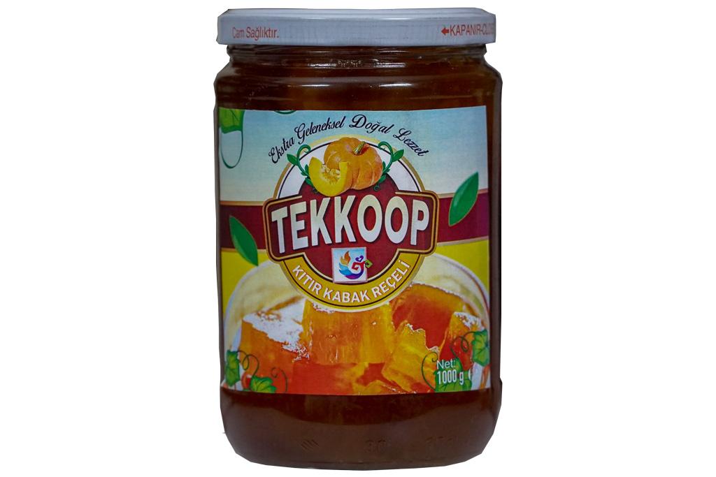 Tarsus Tekkop Kıtır Kabak Reçeli 1000 gr