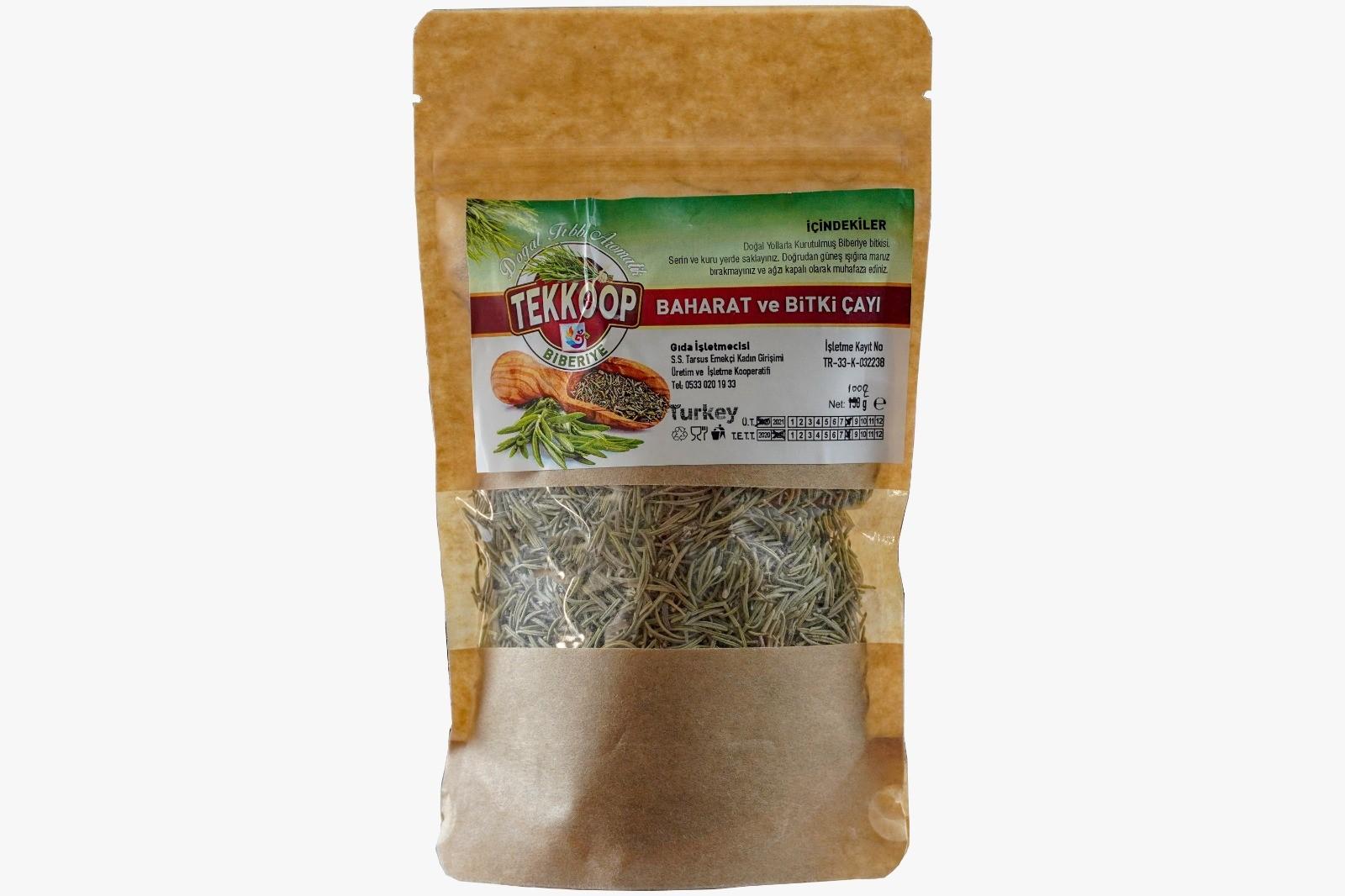 Tarsus Tekkop Biberiye 100 gr