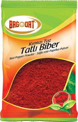 Bağdat Kırmızı Toz Tatlı Biber 75 Gr.