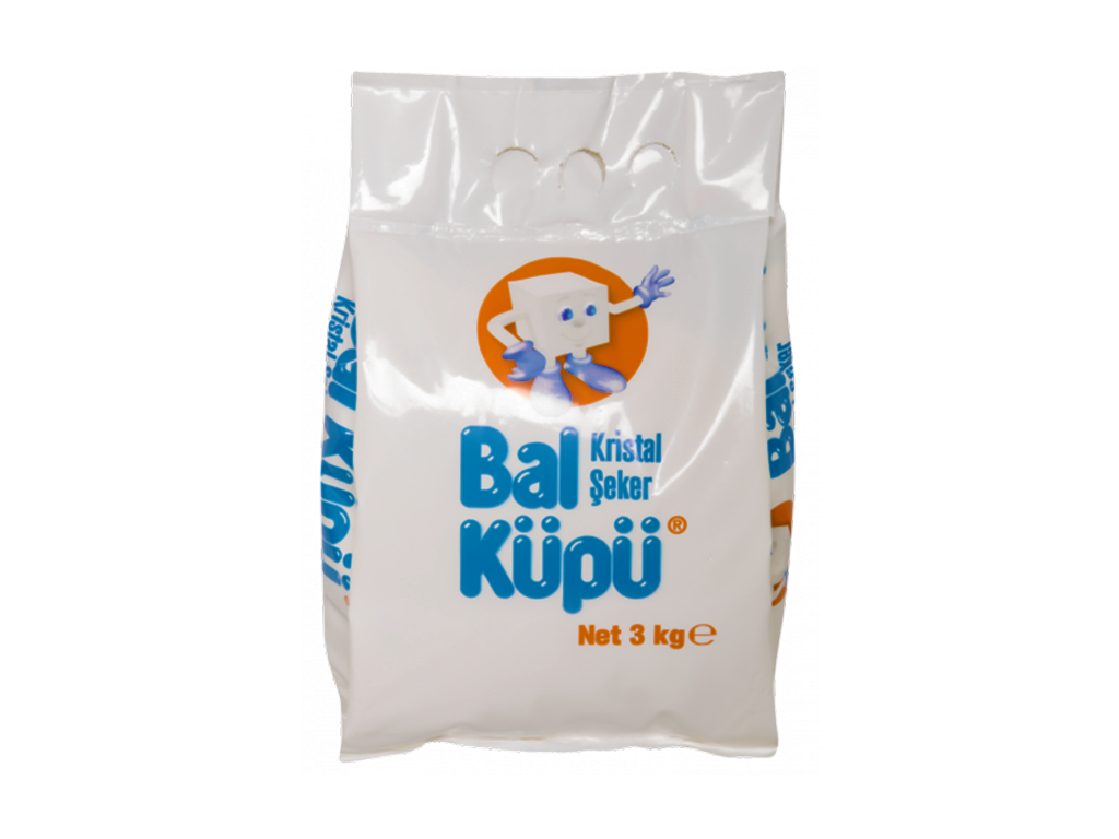 Balküpü Toz Şeker 3 Kg.